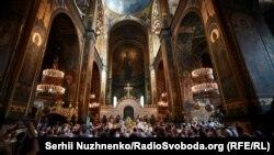 Патріарший кафедральний собор святого Володимира в Києві – головний храм УПЦ Київського патріархату