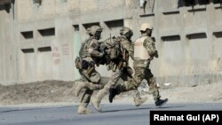 Окуя болгон жерге келген НАТО аскерлери