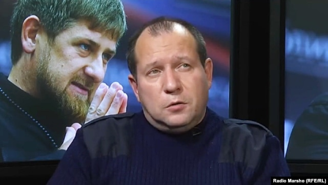 """Ramzan Kadyrov is not mentioned in our materials,"" Igor Kalyapin says. ""Our materials are about specific police officers. But in connection with this, Ramzan Kadyrov accuses us of helping terrorists, of helping jihadis, of working for the CIA."""