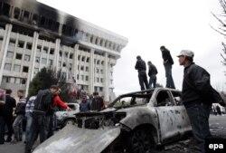 Рэвалюцыя ў Кіргізстане, красавік 2010