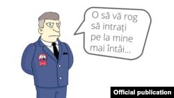 Caricatură de la Centrul de politici și reforme.