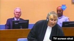 Sa suđenja Mladiću, 28. kolovoza 2012.