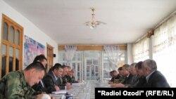 Кыргыз-тажик чек арасын тактоо боюнча комиссиянын кезектеги жыйыны