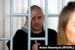 Станіслав Клих під час засідання суду у Грозному. 17 травня 2016 року