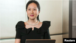 Huawei executive Meng Wanzhou, 2018.