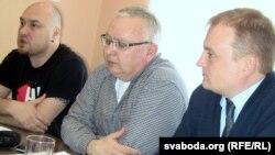 Валянцін Стэфановіч, Алег Гулак і Алег Агееў