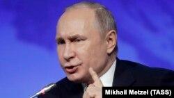 Владимир Путин, г. Санкт-Петербург, 9 апреля 2019 г.