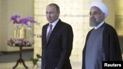 Իրանի և Ռուսաստանի նախագահների հանդիպումը Թեհրանում, 23-ը նոյեմբերի, 2015թ․