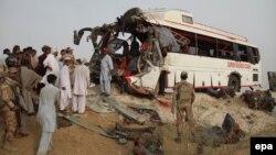 Пакистан, террордук чабуулдан кийин.