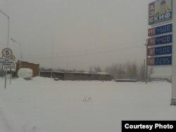 Фото автора: ціни на паливо на АЗС