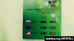 Валюта бағамы. Алматы, 11 ақпан 2014 жыл.