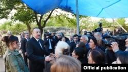 İlham Əliyev cəbhədə - 1 may 2016