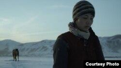 """Кадр из фильма Эльнуры Осмоналиевой """"Сейде""""."""