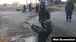 Тренування дітей в угрупованні «ЛНР», що визнане в Україні терористичним