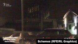 12 січня 2021 року на парковці ресторану Fabius у Конча-Заспі журналісти також зауважили багато автівок і викликали поліцію
