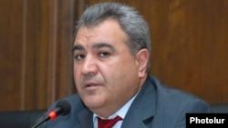 Վերահսկիչ պալատի նախագահ Իշխան Զաքարյան