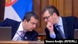 While Prime Minister Ivica Dacic's Socialists might win just 10 percent, Deputy Prime Minister Aleksandar Vucic's Progressives look set to win big.