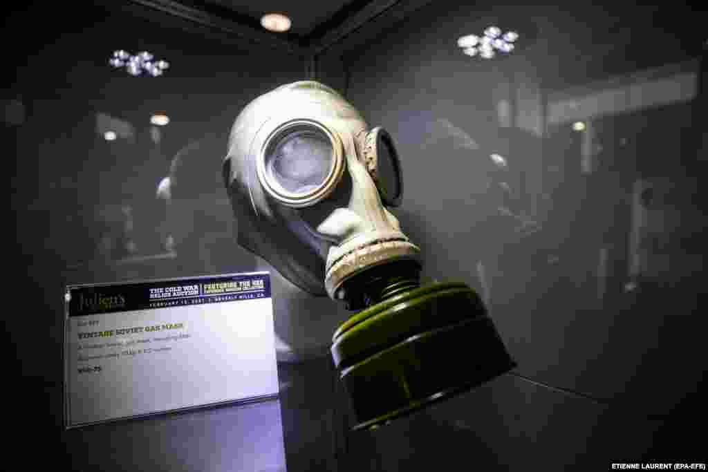 Гас маска од времето на СССР
