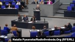 Заседание Бундестага.