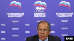 Глава МЗС Росії Сергій Лавров