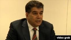 Бывший ректор АМУ Эльшад Абдуллаев. Декабрь 2012 года.
