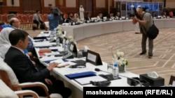جریان روز اول نشست بینالافغانی قطر