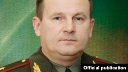Belarus - New Defence Minister of Belarus Andrei Raukou, undated