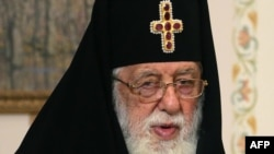 Georgia's Patriarch Ilia II (file photo)