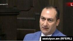 Министр юстиции Артак Зейналян, Ереван, 16 октября 2018 г.
