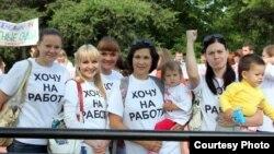 Иркутск. Молодые мамы требуют мест в детских садах