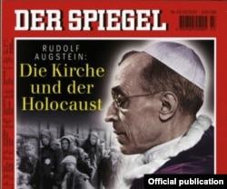 """Papa Pius XII, copertă a săptămînalului german """"Der Spiegel"""", 1997"""