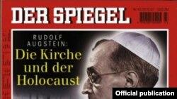 Papa Pius al XII-lea, imagine pe coperta revistei Der Spiegel (1997)