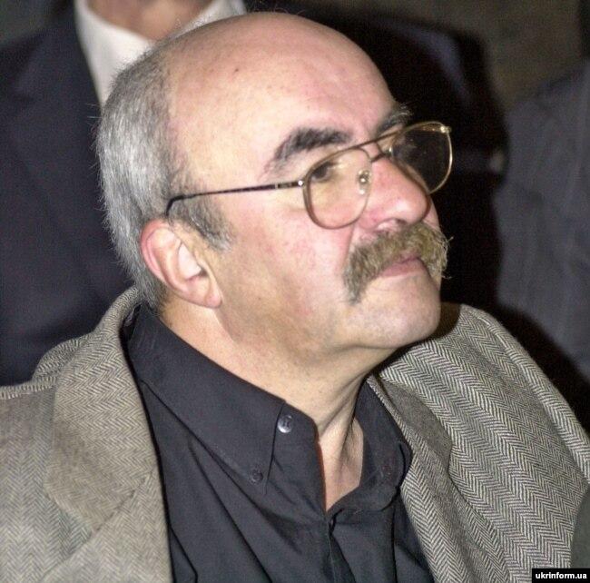 Український поет та перекладач Мойсей Фішбейн під час V з'їзду Національної спілки письменників України. Київ, 7 жовтня 2006 року