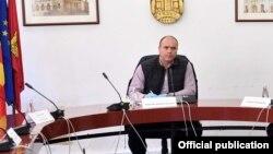 Актуелниот градоначалник на Куманово, кој е кандидат и на овие избори Максим Димитриевски.