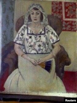 Fransız rəssam Henri Matisse-in əsəri