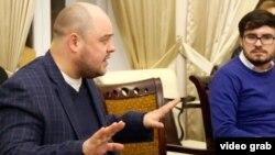 Нияз Игъламов (с) һәм Элмир Низамов