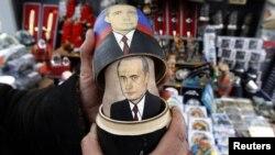 Vladimir Putin na suvenirima