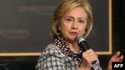 Бывший государственный секретарь США Хиллари Клинтон.