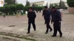 Репортёр Азаттыка снял на видео свое задержание