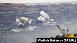 Добыча угля на Кузбассе