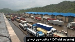 A General view of Bashmaq Border crossing in Marivan County of Iran's Kurdistan province, one of the border crossings between Iran and Iraqi Kurdistan Region, undated.