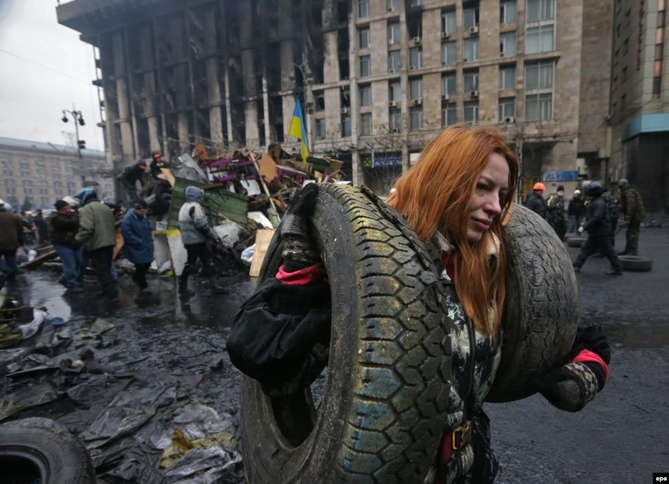 Один день Украинской трагедии (фоторепортаж)