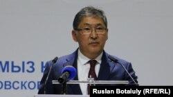 Казакстандын Билим берүү министри Ерлан Сагадиев.