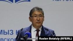 Ерлан Сагадиев, министр образования и науки Казахстана.
