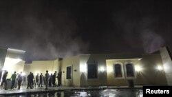 Консульство США в Бенгази. Ливия, 12 сентября 2012 года.