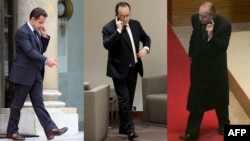 Франциянын телефон сүйлөшүүлөрү АКШнын Улуттук коопсуздук агенттиги тарабынан тыңшалганы айтылып жаткан президенттери Николя Саркози (2007-2012), Франсуа Олланд (2012-жылдан бери), Жак Ширак (1995-2007).