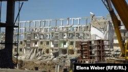 Снос жилого комплекса «Бесоба» в Караганде. Архивное фото.