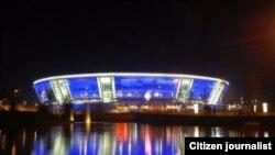 """Донецк. Стадион """"Донбасс-арена"""" будет принимать матчи чемпионата Европы 2012 года"""