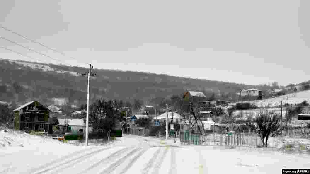 Дорога в Карань