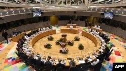 Novi štab EU u Briselu, zgrada Evropa sa zasijedanja u junu 2017